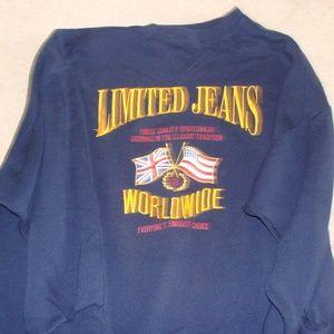 The Limited size medium sweatshirt